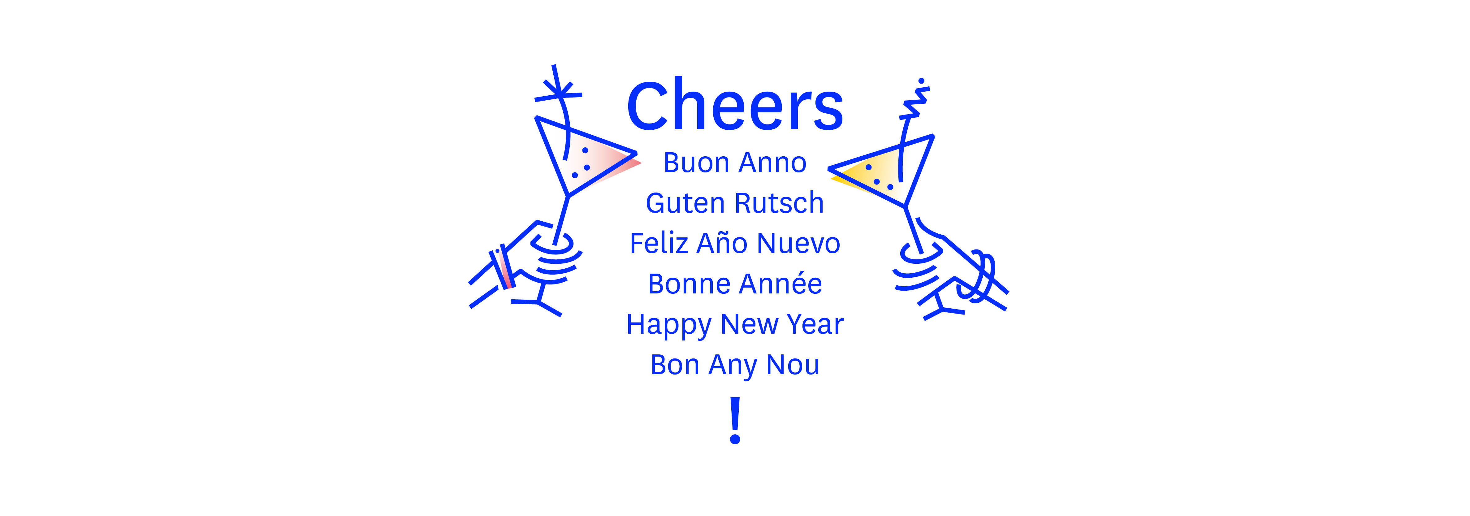Happy New Year Font 52